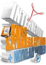 Poradnik: Internetowy Kurs Szybkiego Czytania - ebook