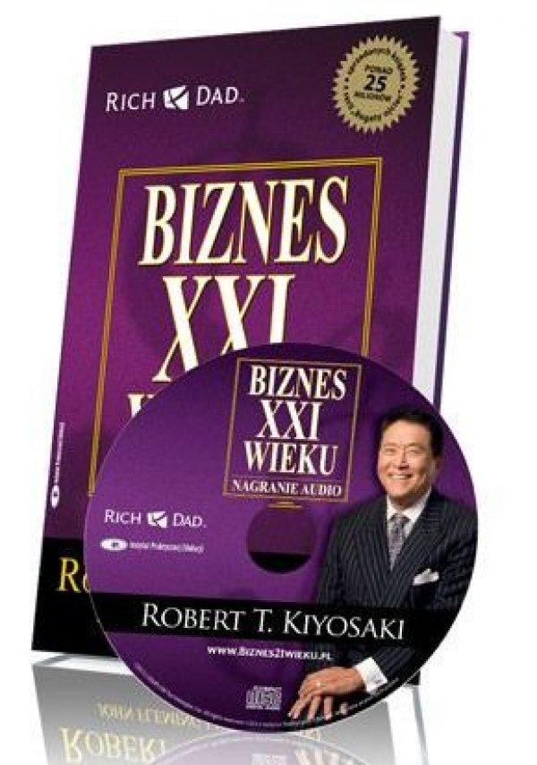 Robert Kiyosaki: [Edycja CD] Biznes XXI wieku - okładka