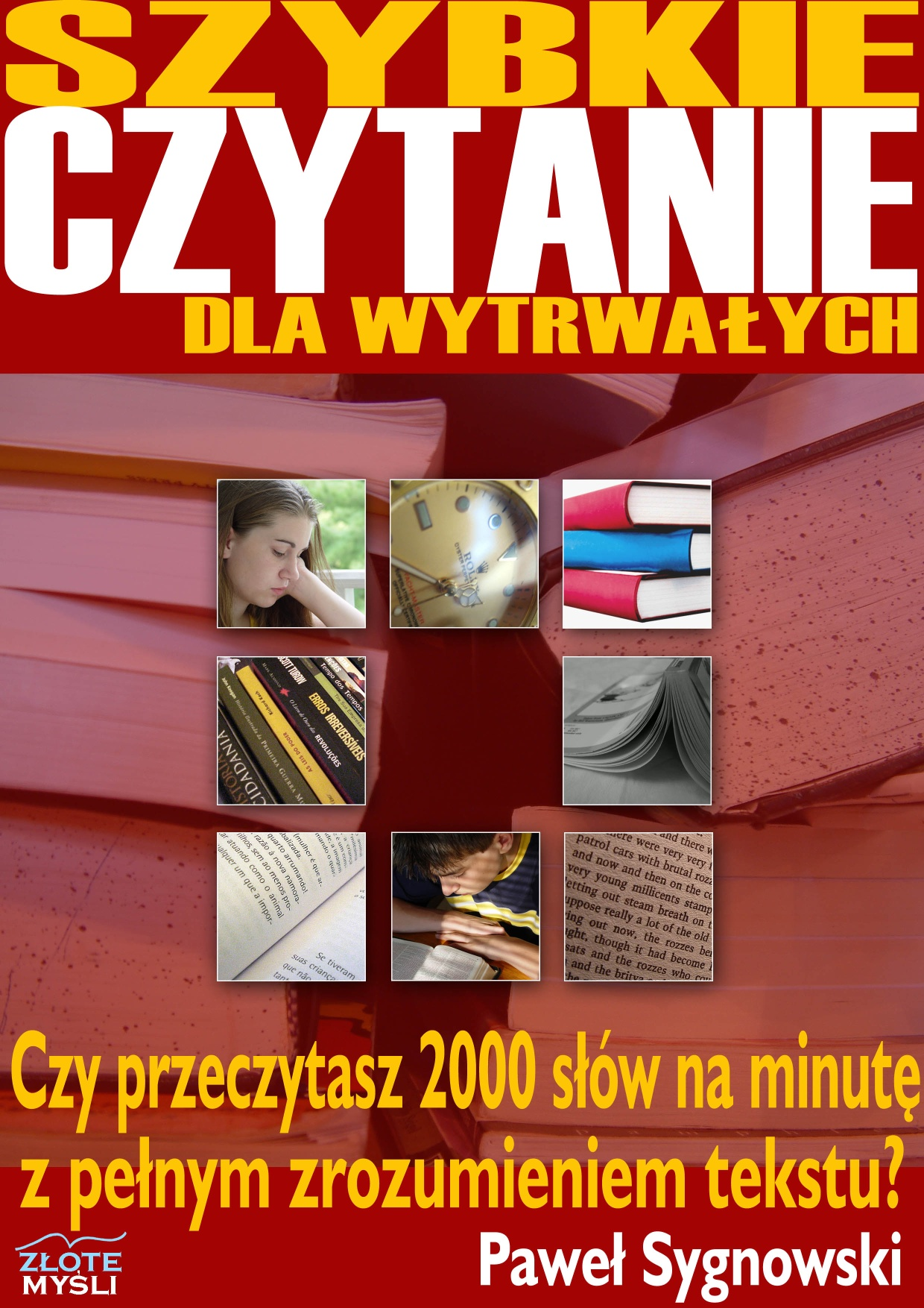 Paweł Sygnowski: Szybkie czytanie dla wytrwałych - okładka