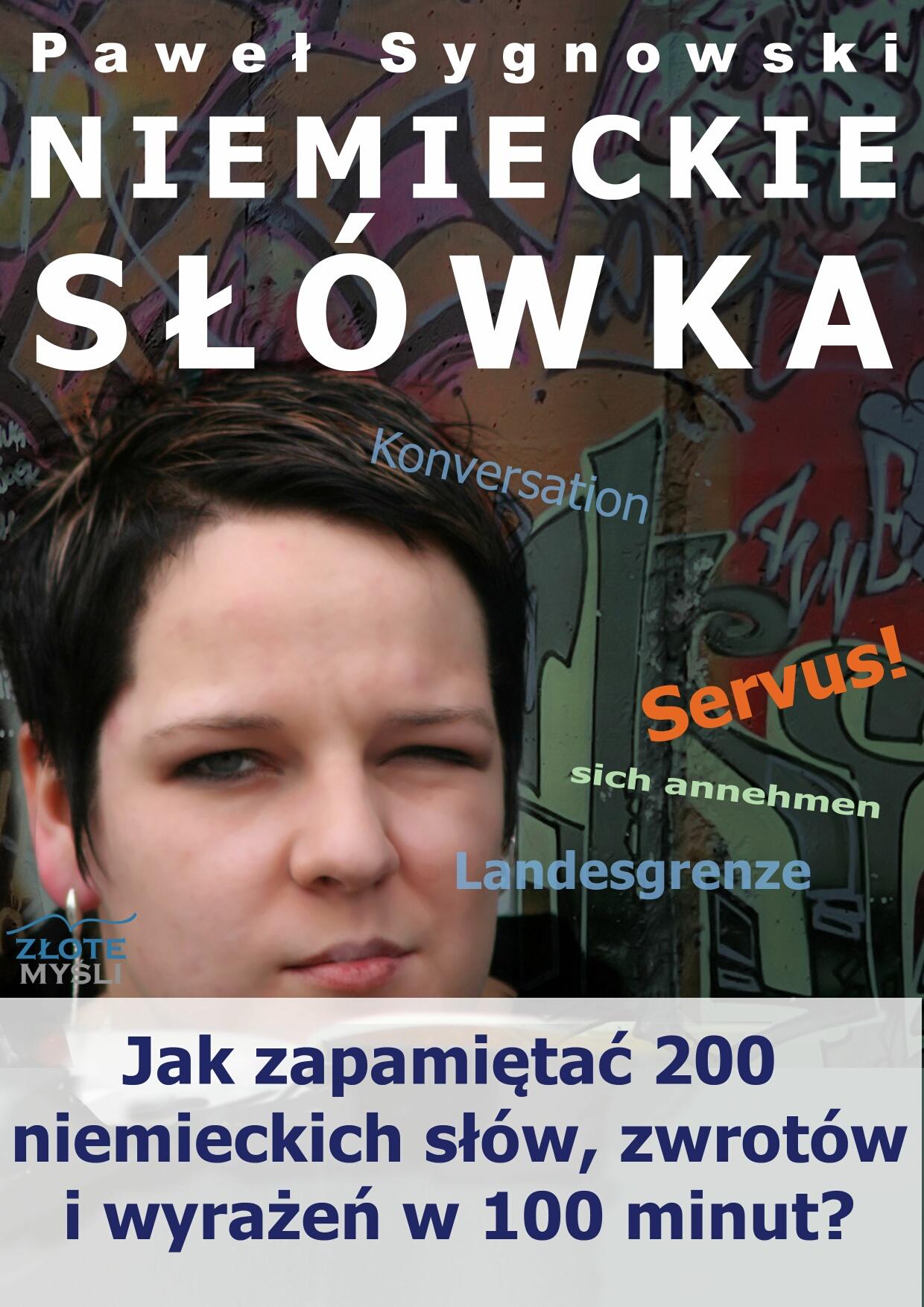 Paweł Sygnowski: Niemieckie słówka - okładka