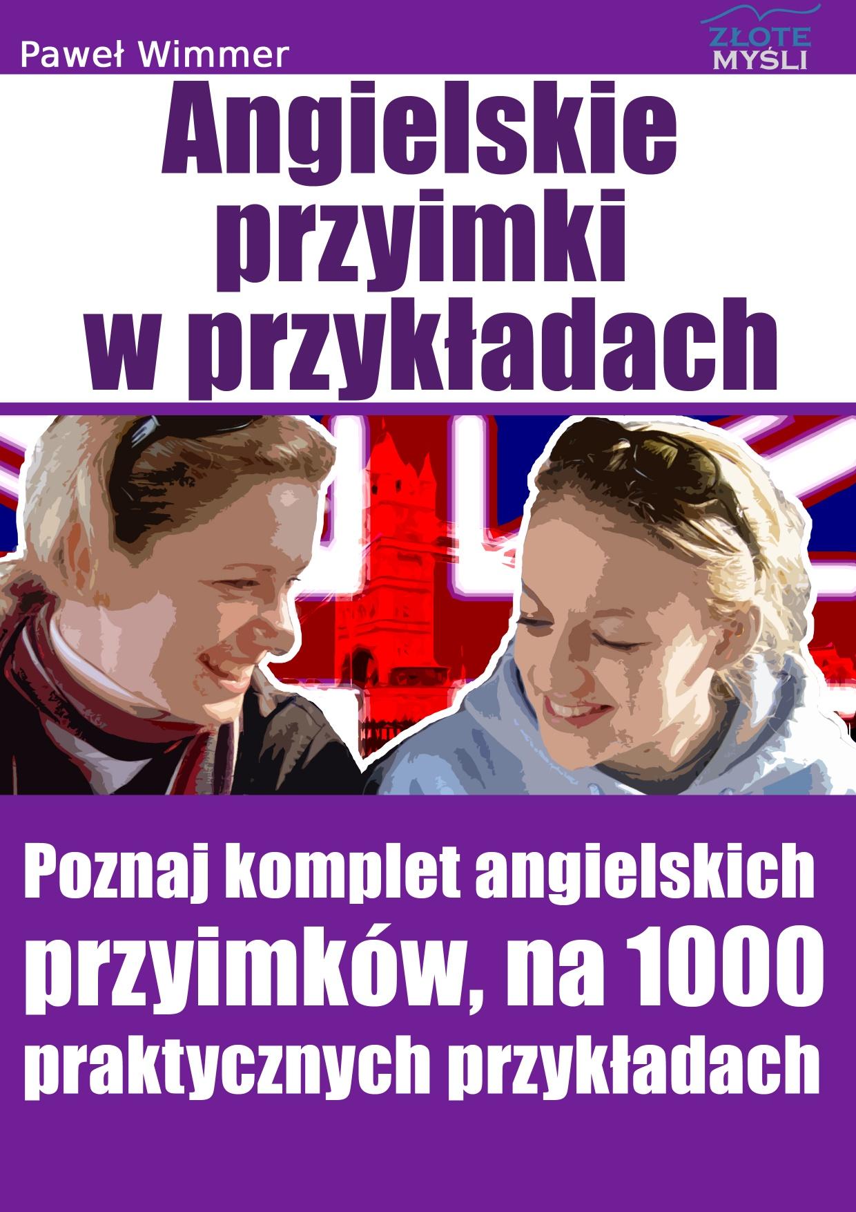 Paweł Wimmer: Angielskie przyimki (prepositions) - okładka
