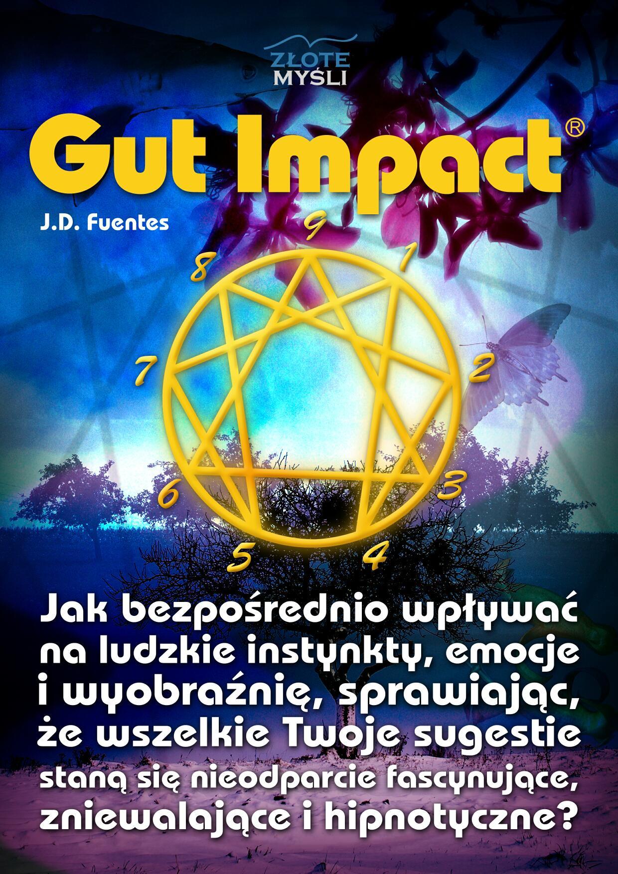 J.D. Fuentes: Gut Impact - okładka