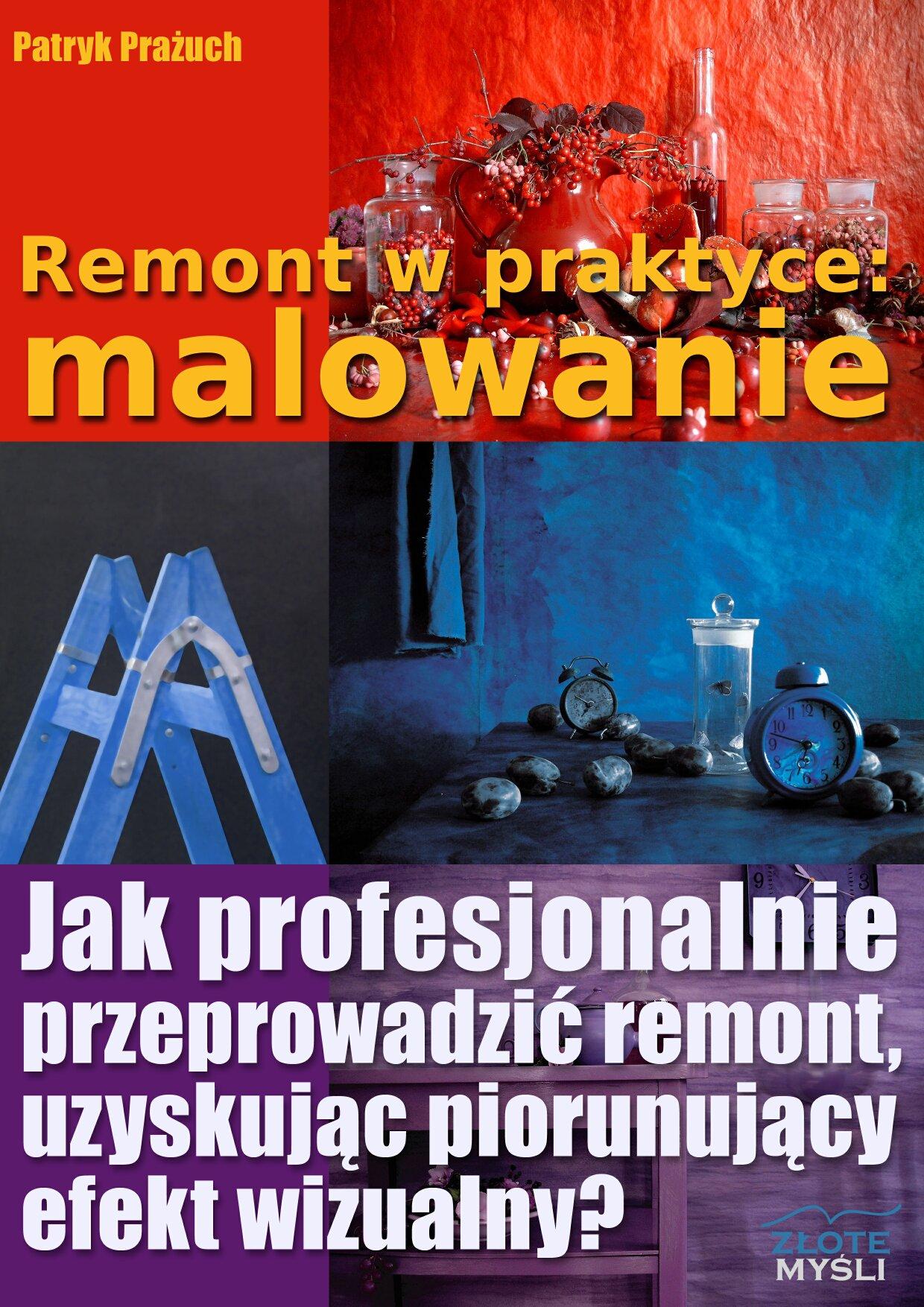 Patryk Prażuch: Remont w praktyce: malowanie - okładka
