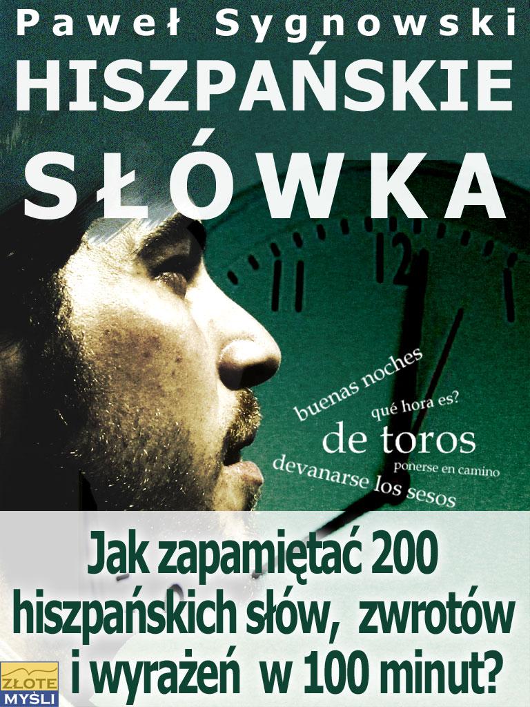 Paweł Sygnowski: Hiszpańskie słówka - okładka