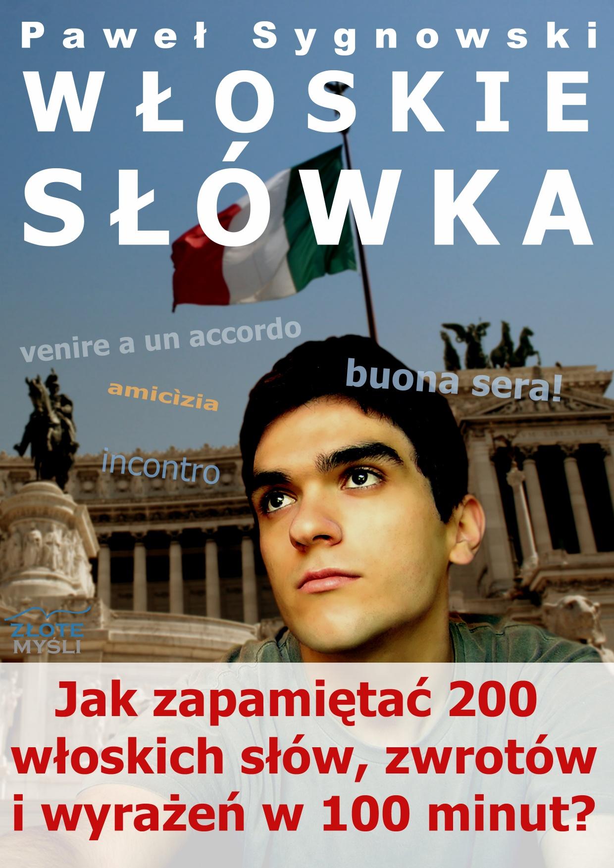 Paweł Sygnowski: Włoskie słówka - okładka