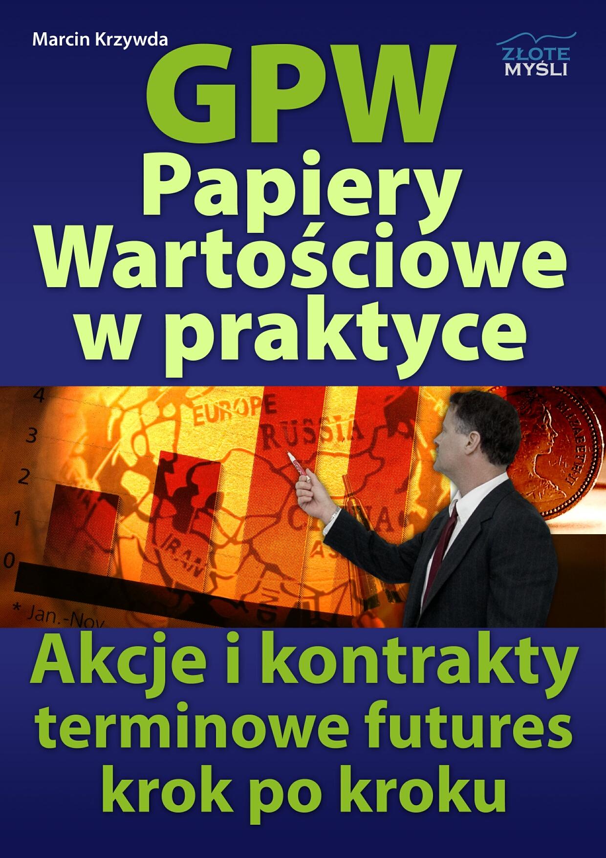Marcin Krzywda: GPW II - Akcje i analiza fundamentalna w praktyce - okładka