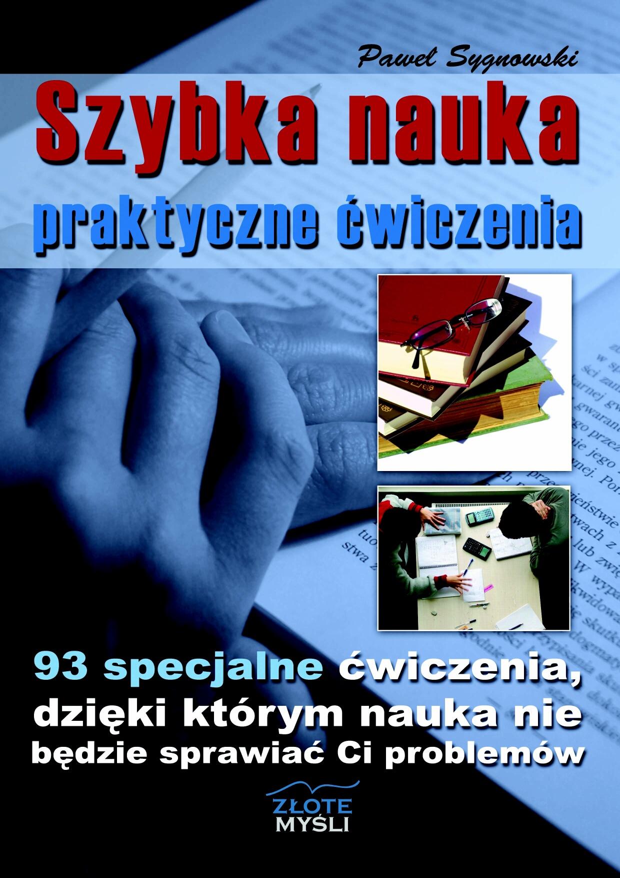 Paweł Sygnowski: Szybka nauka - praktyczne ćwiczenia - okładka