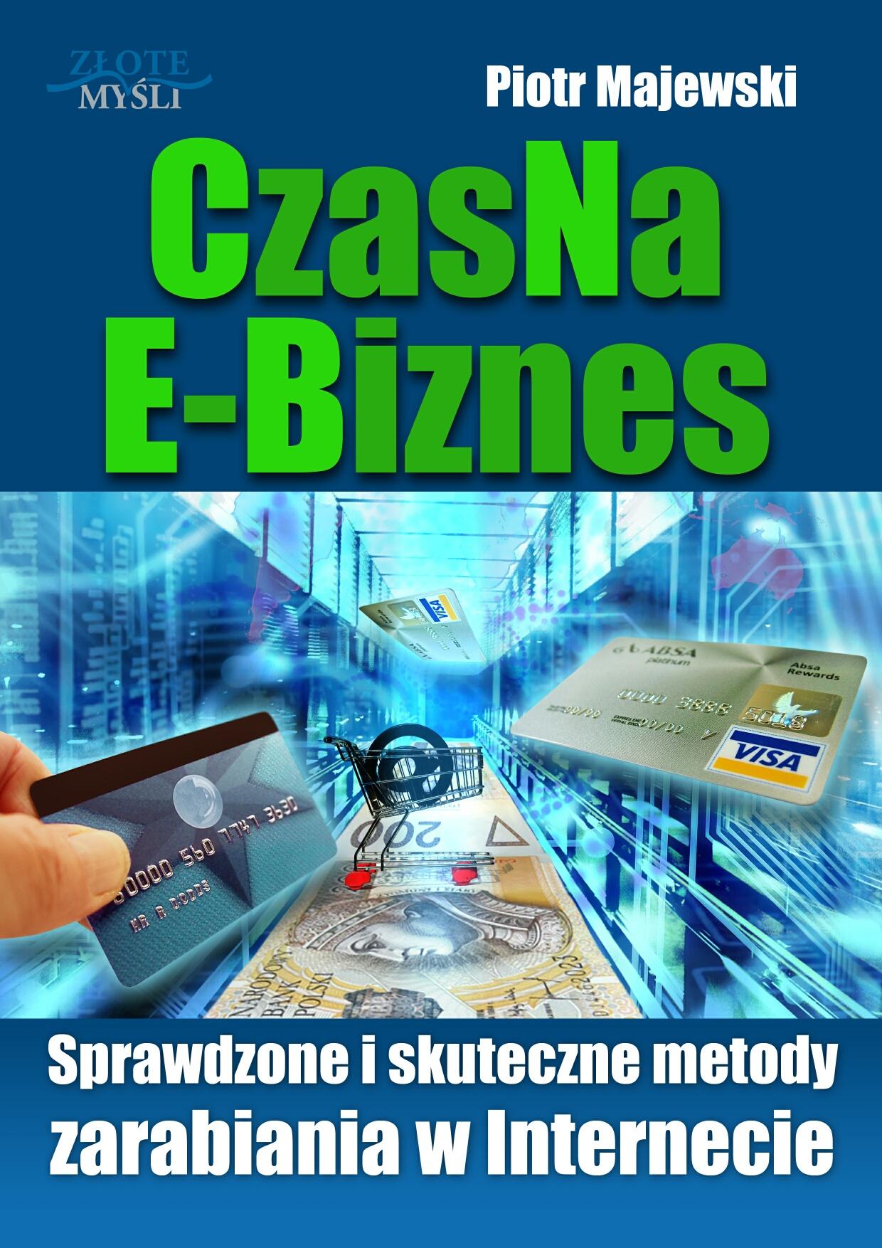 Piotr Majewski: CzasNaE-Biznes - okładka