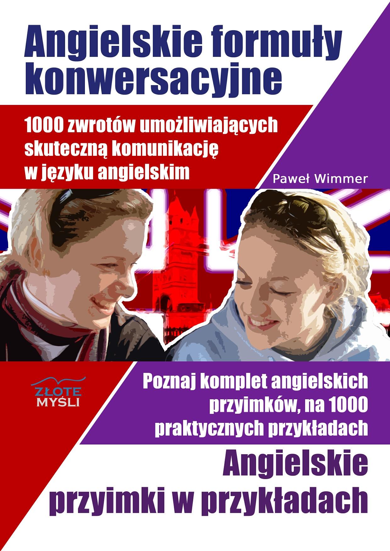 Paweł Wimmer: Angielskie formuły konwersacyjne - okładka