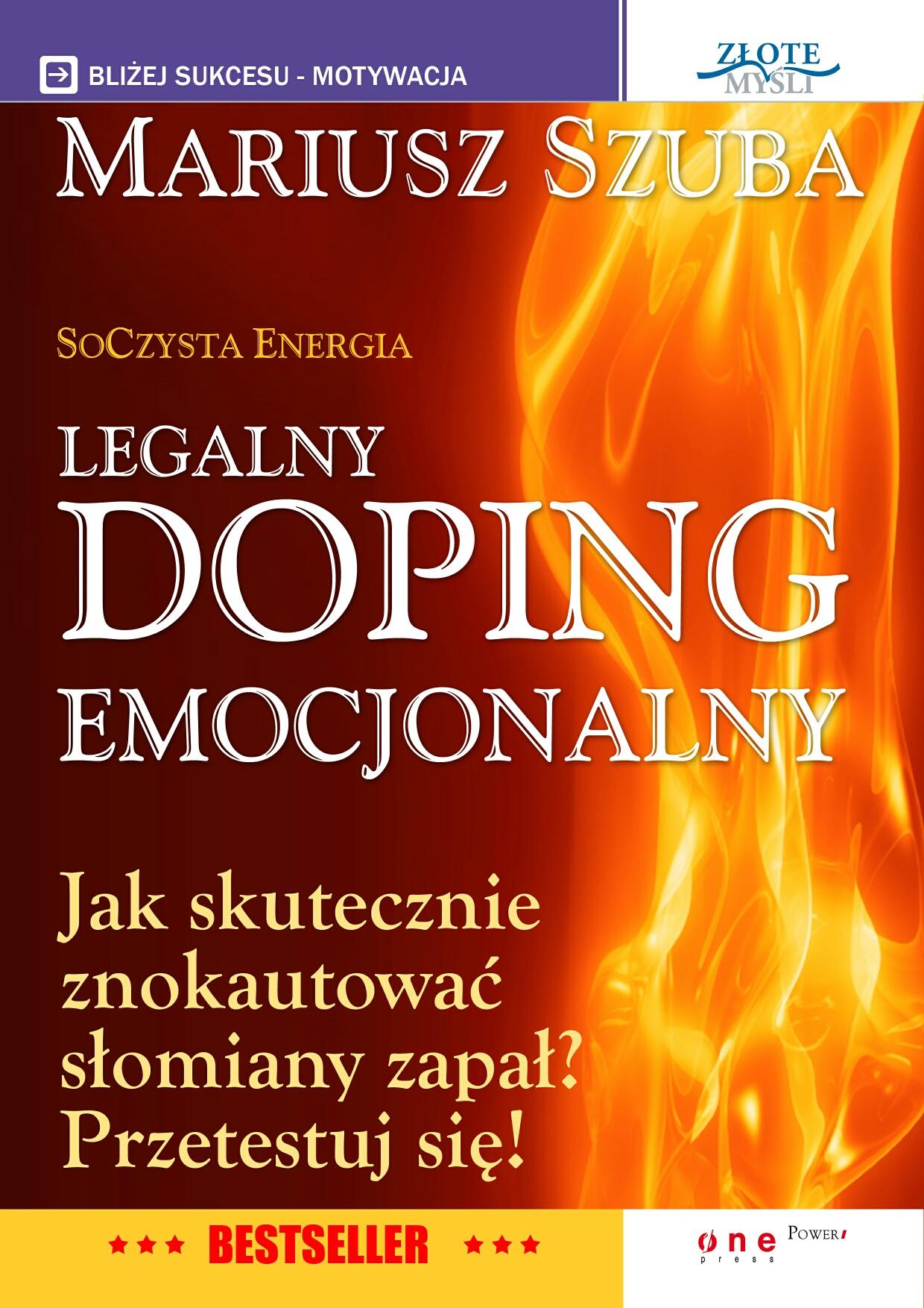 Mariusz Szuba: Legalny Doping Emocjonalny - okładka