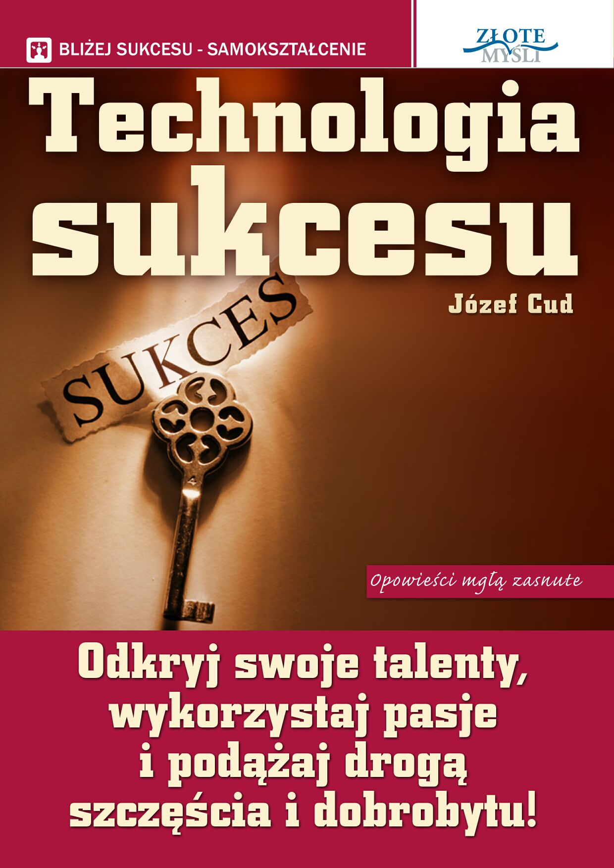 Józef Cud: Technologia Sukcesu - okładka