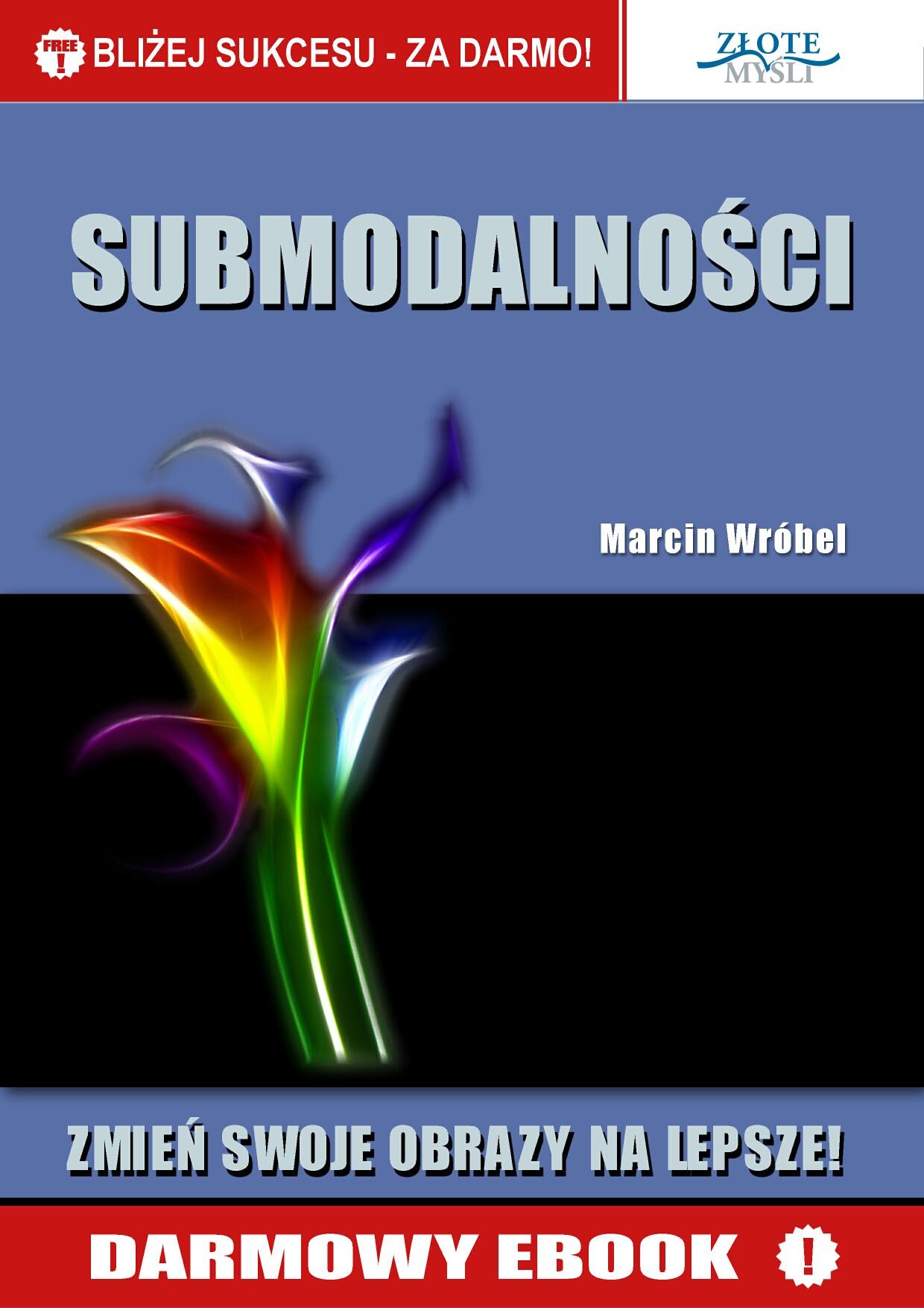 Marcin Wróbel: Submodalności - okładka