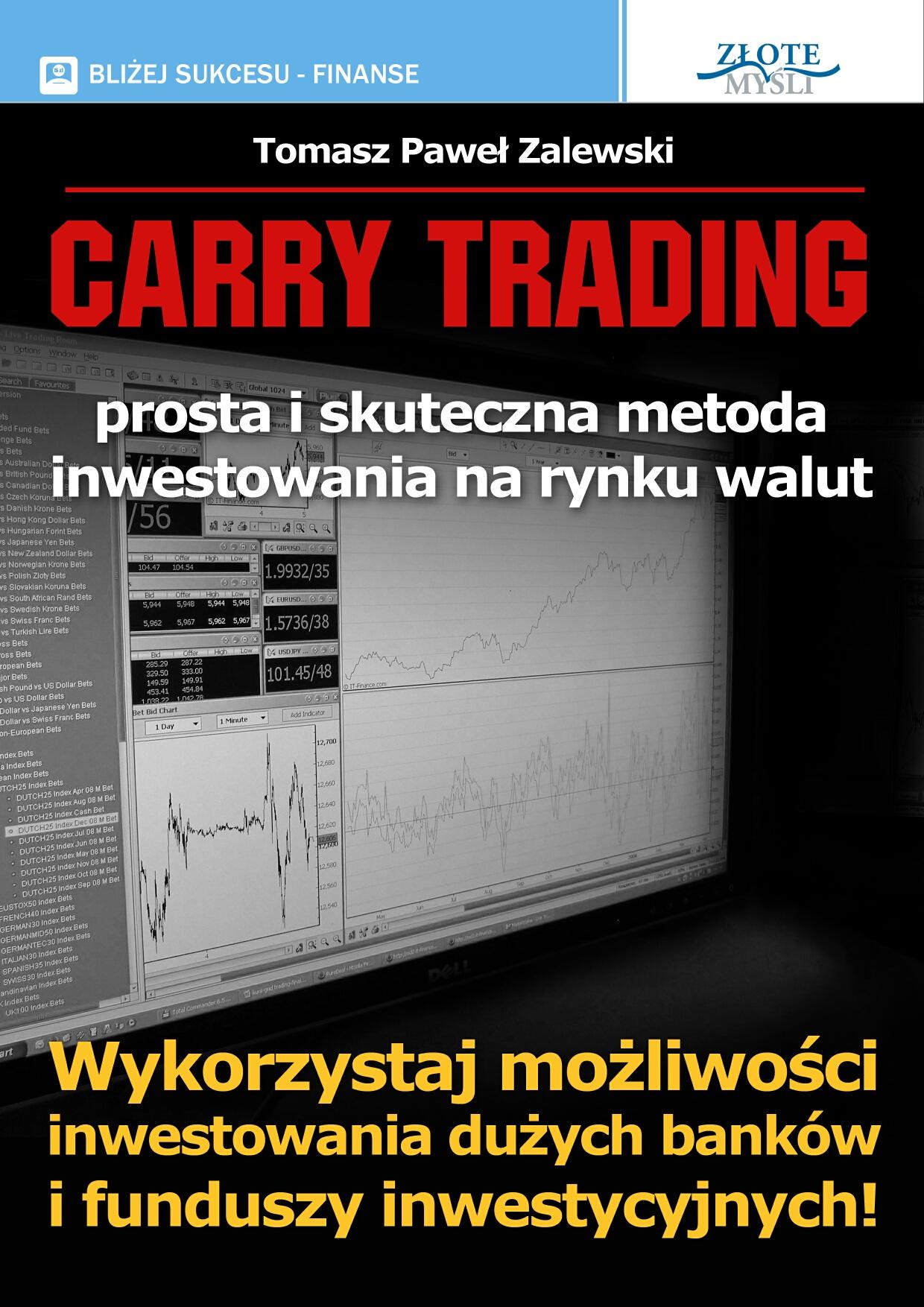 Tomasz Paweł Zalewski: Carry Trading - okładka