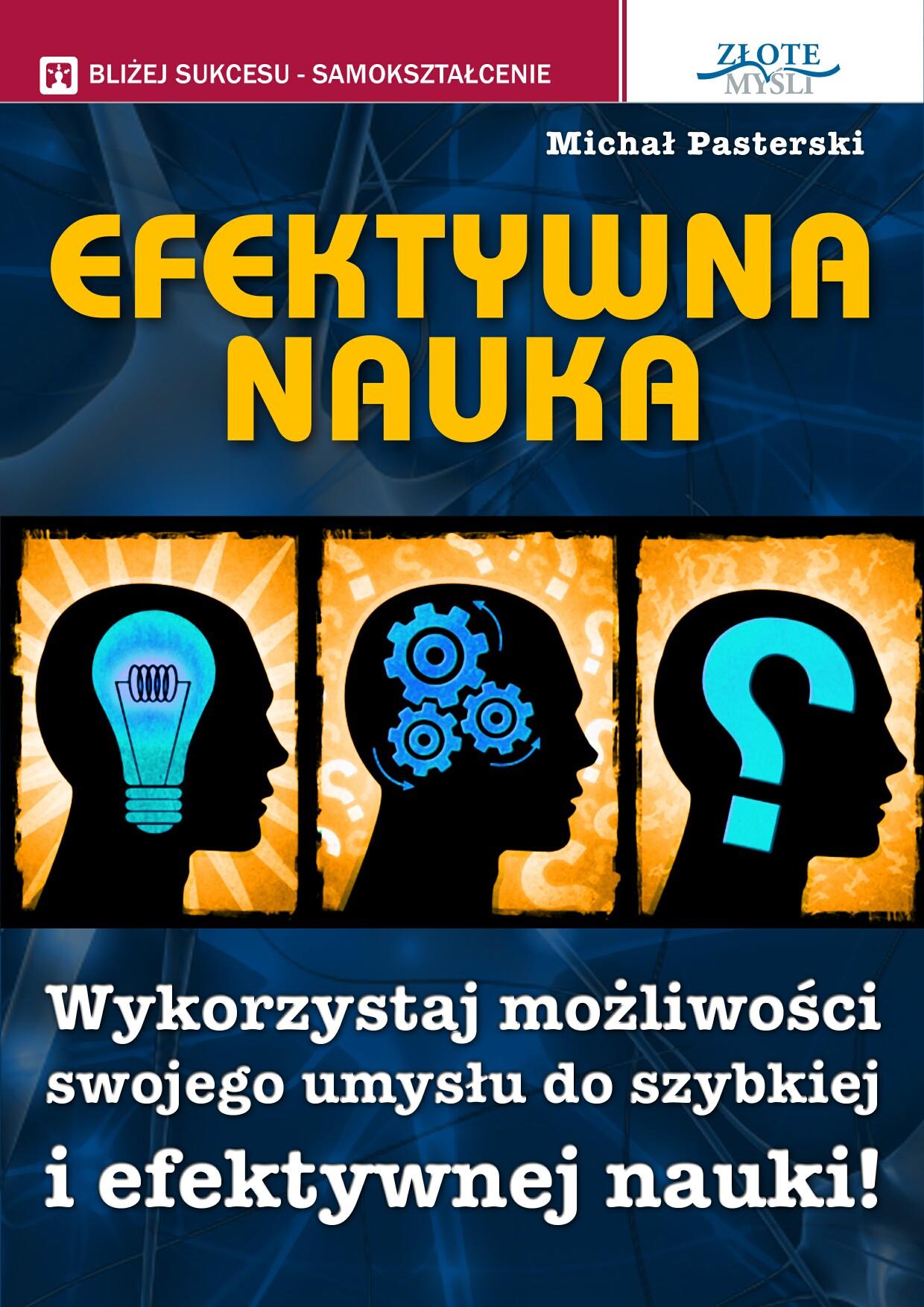 Michał Pasterski: Efektywna nauka - okładka