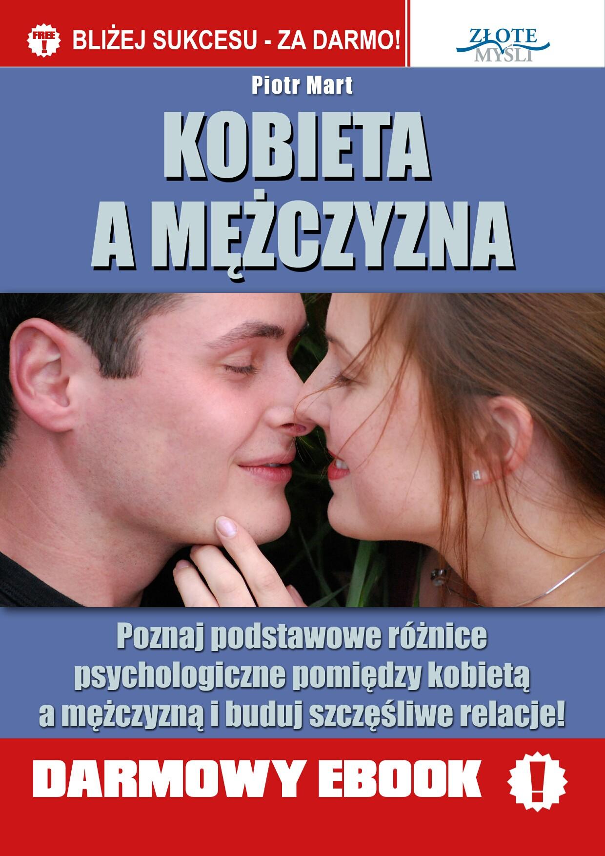 Piotr Mart: Kobieta a mężczyzna - okładka