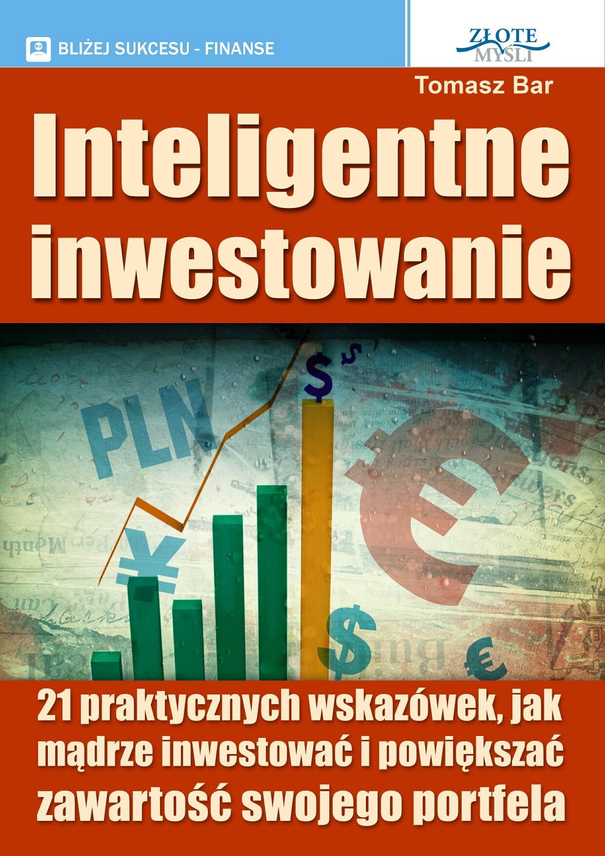 Tomasz Bar: Inteligentne inwestowanie - okładka