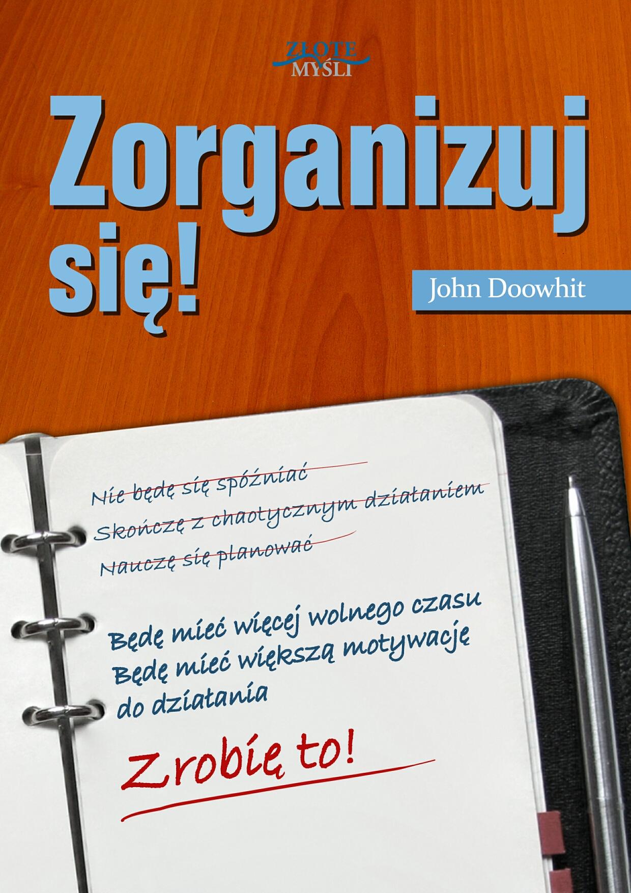 John Doowhit: Zorganizuj się! - okładka