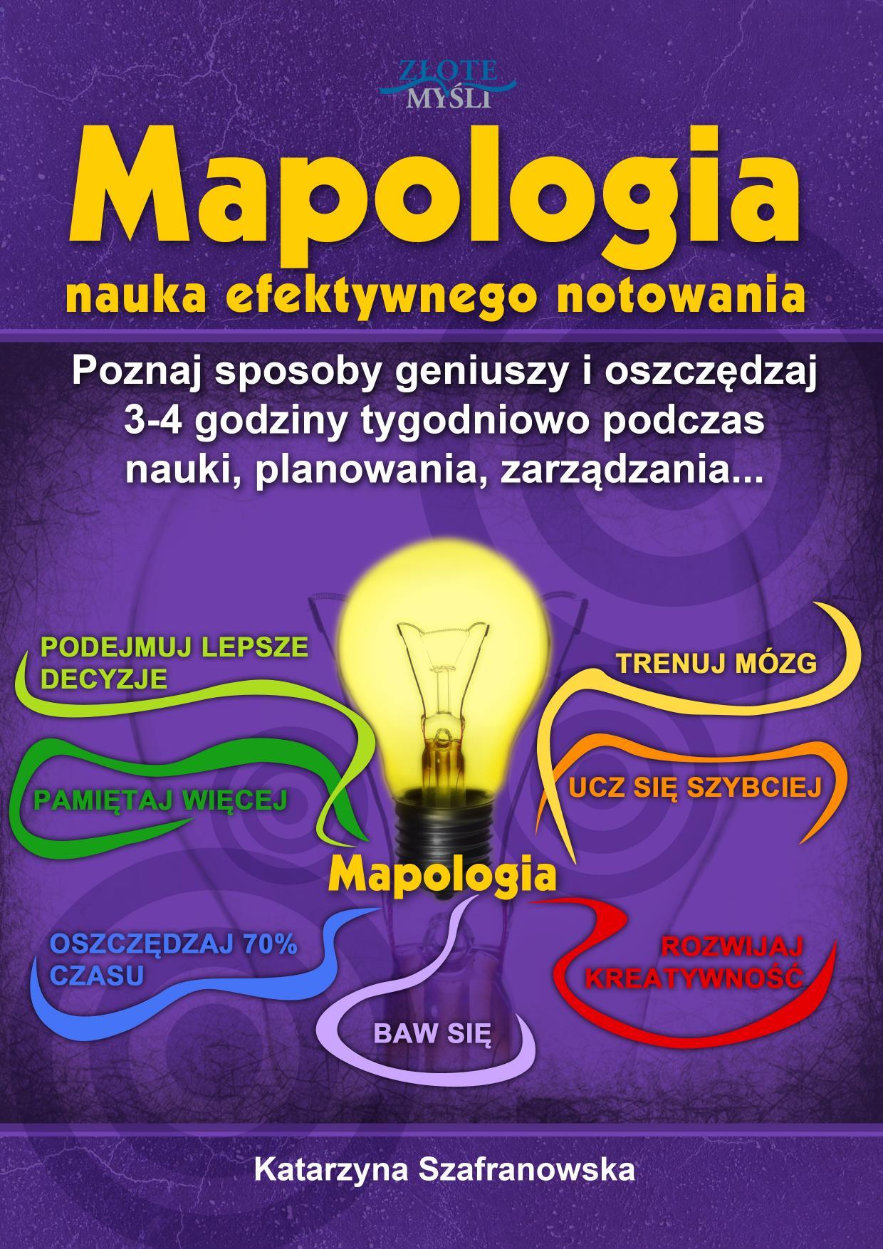 Katarzyna Szafranowska: Mapologia - okładka