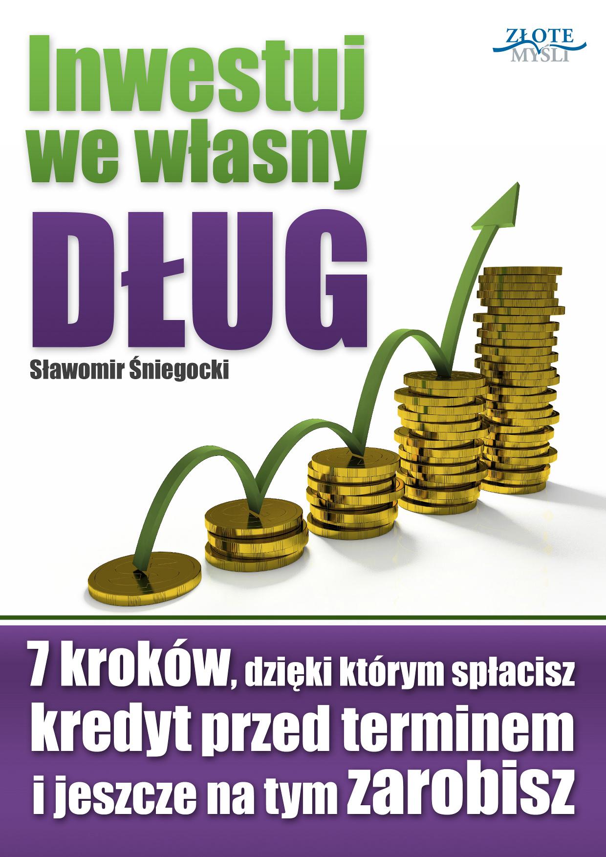 Sławomir Śniegocki: Inwestuj we własny dług - okładka