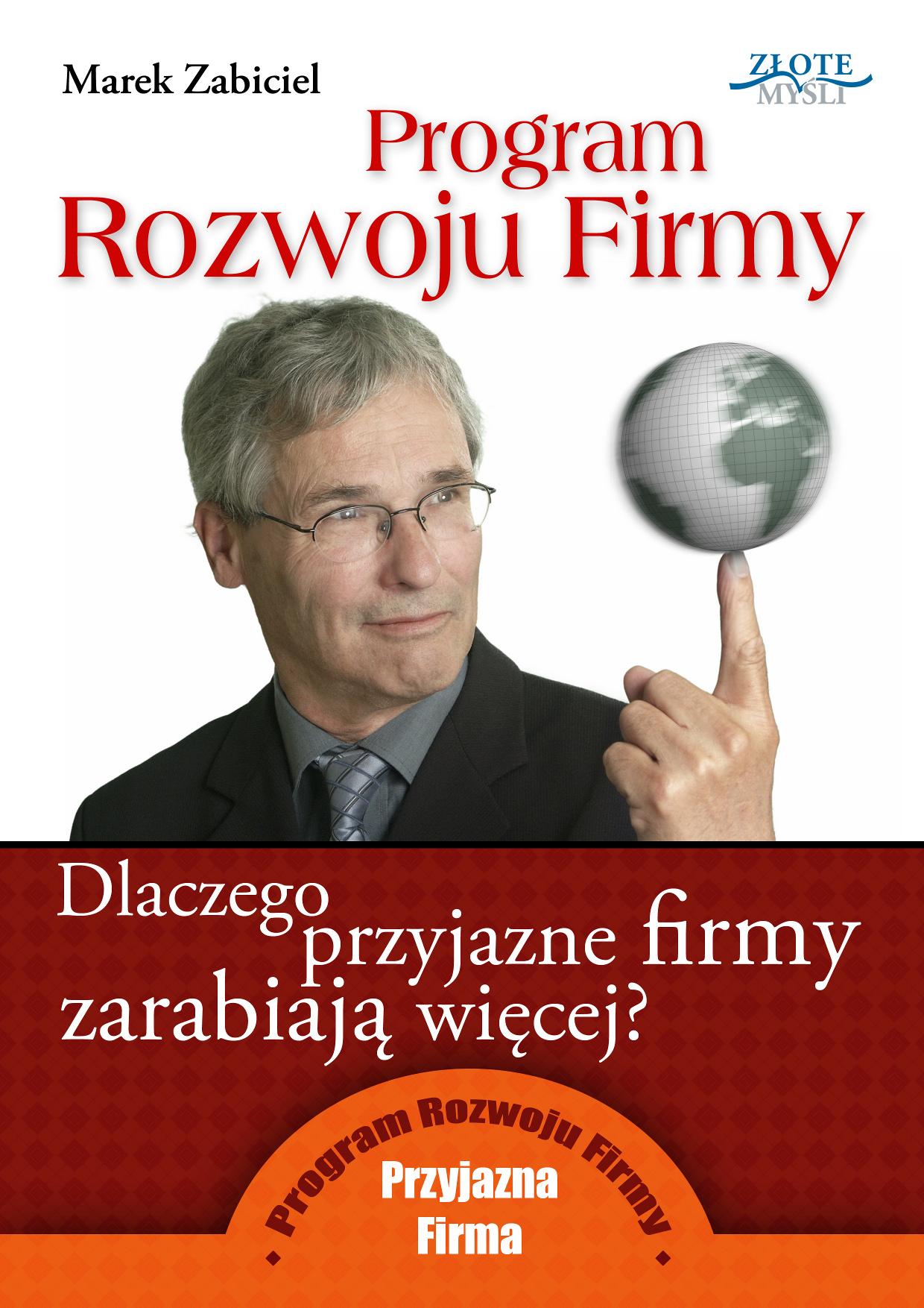 Marek Zabiciel: Program Rozwoju Firmy - okładka