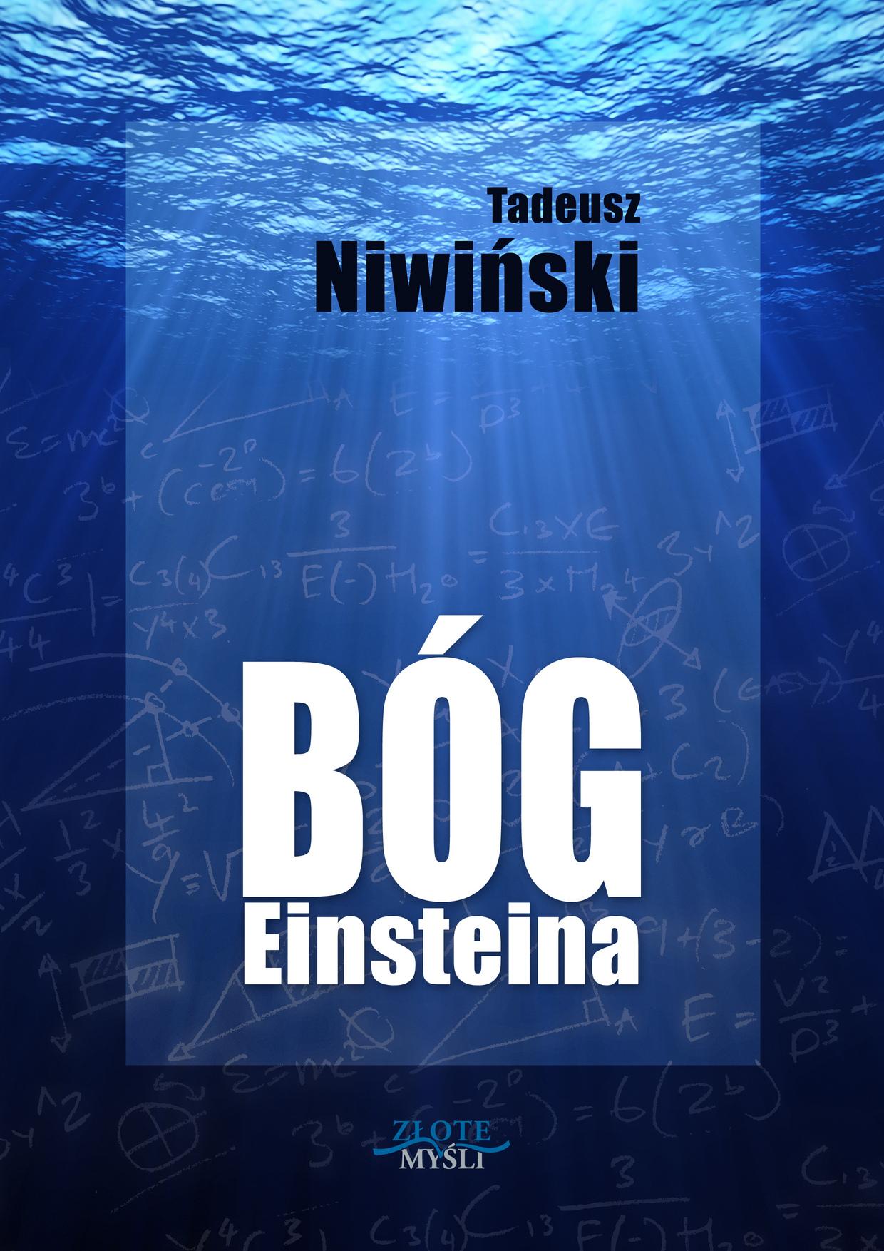Tadeusz Niwiński: Bóg Einsteina - okładka