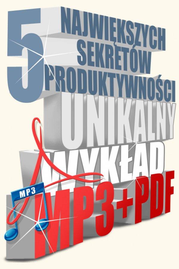 Sebastian Schabowski: 5 największych sekretów produktywności - okładka