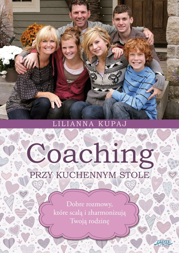Lilianna Kupaj: Coaching przy kuchennym stole - okładka