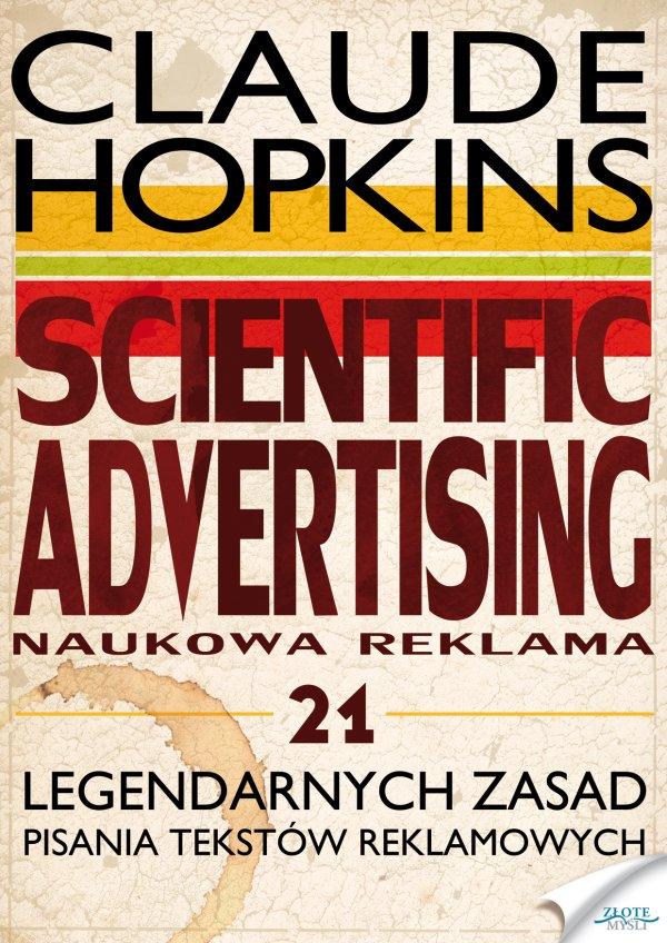 Claude Hopkins: Scientific Advertising - okładka